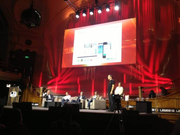 olivier amar presenting at leweb 2013 for mypermissions