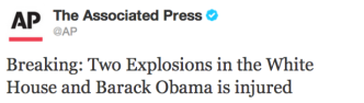 Image from http://qz.com/77413/markets-briefly-crash-after-aps-hacked-twitter-account-falsely-reports-white-house-explosions/