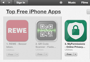Top Free Apps iOS Germany feature